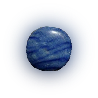 blauwe kwarts   - uitleg edelsteen